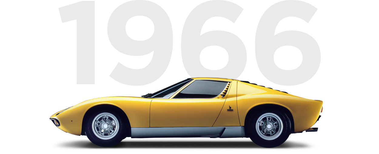 Pirelli & Lamborghini through history 1966