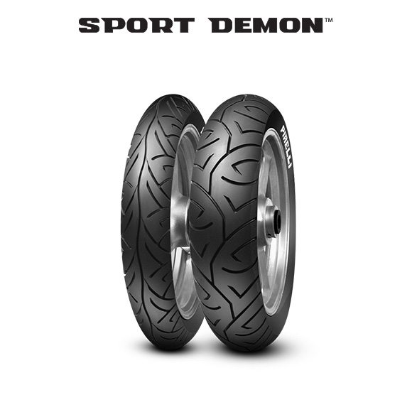 SPORT DEMON tyre for APRILIA RS 125 Extrema; Replica GS (1992>1995) motorbike