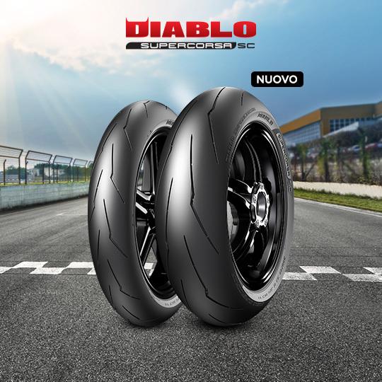 Pneumatico moto per track DIABLO SUPERCORSA V3 708