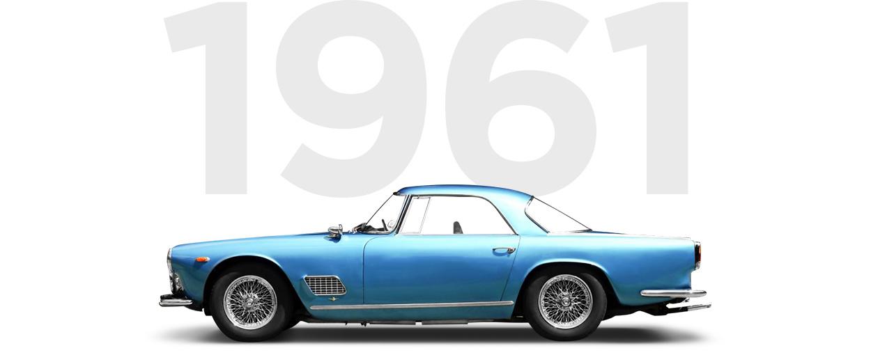 Pirelli & Maserati through history 1961