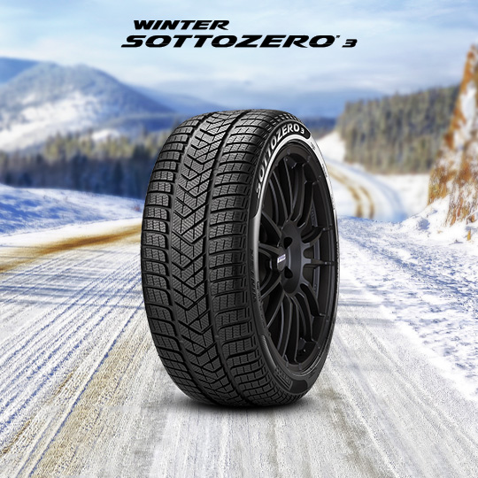 WINTER SOTTOZERO SERIE III tyre for MCLAREN 720S