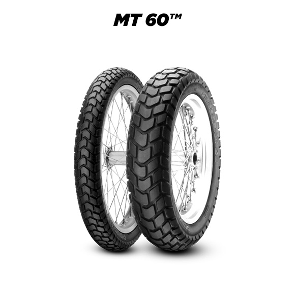 MT 60 tyre for BMW R 80 GS  MY 1988 - 247 E (> 1988) motorbike