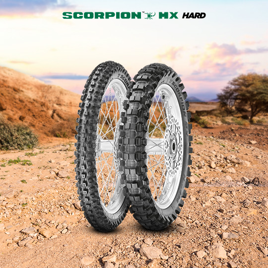Pneu de motocicleta para off road SCORPION MX HARD