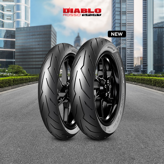 DIABLO ROSSO SPORT motorbike tyre for road