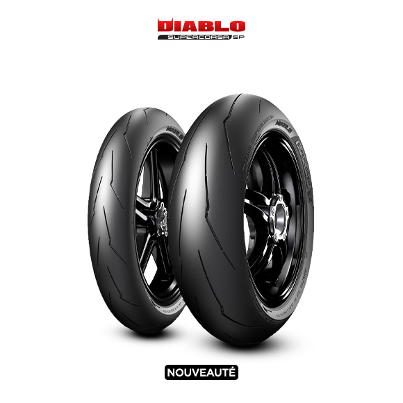 Pneu DIABLO SUPERCORSA V3 707 pour moto TRIUMPH Speed Triple; ABS 515 NV (> 2011)