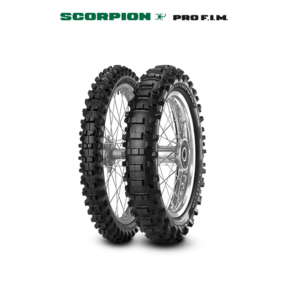 SCORPION PRO tyre for YAMAHA WR 450 F CJ 04 (> 2003) motorbike