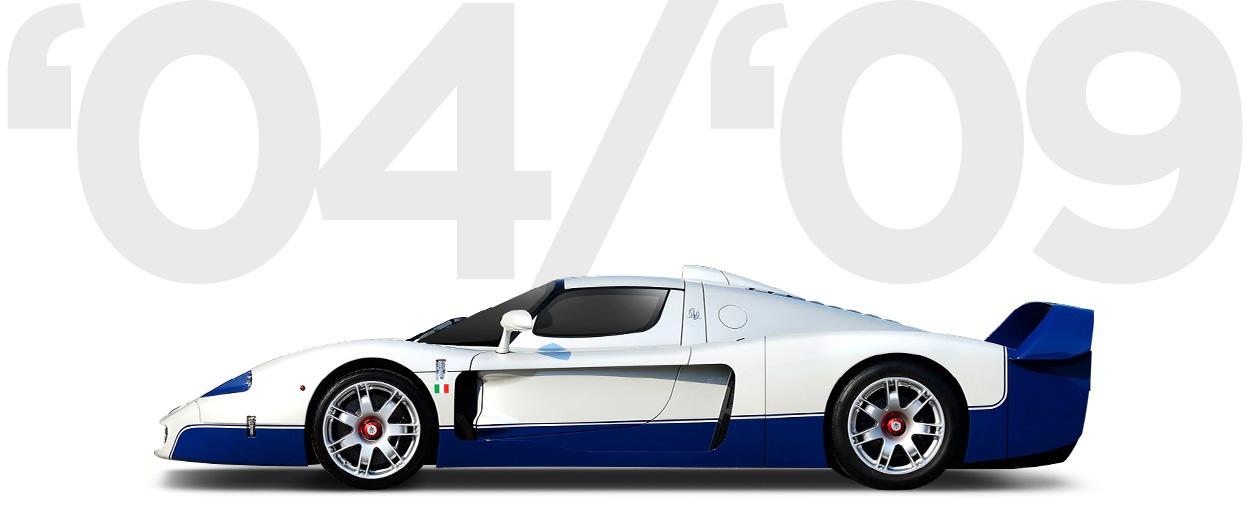 Pirelli & Maserati through history 2004-2009