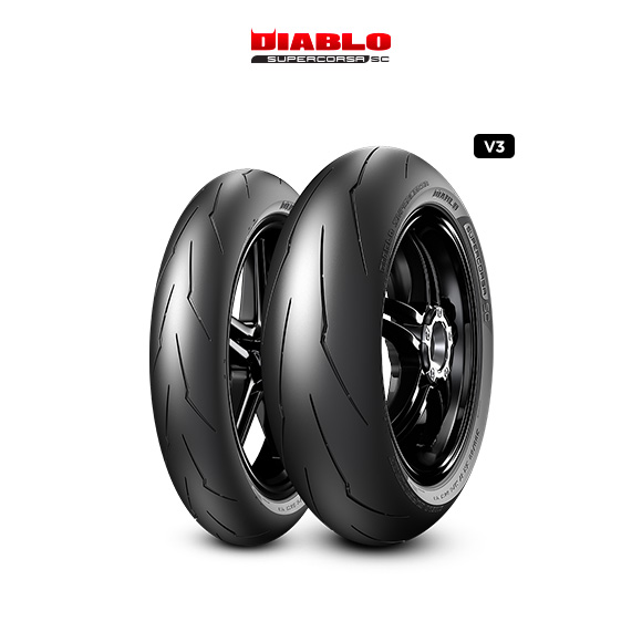 Pneu moto pour track DIABLO SUPERCORSA V3 708