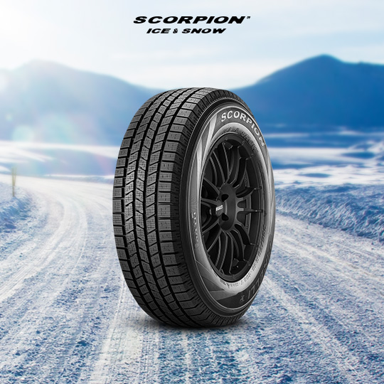 SCORPION ICE & SNOW car tire