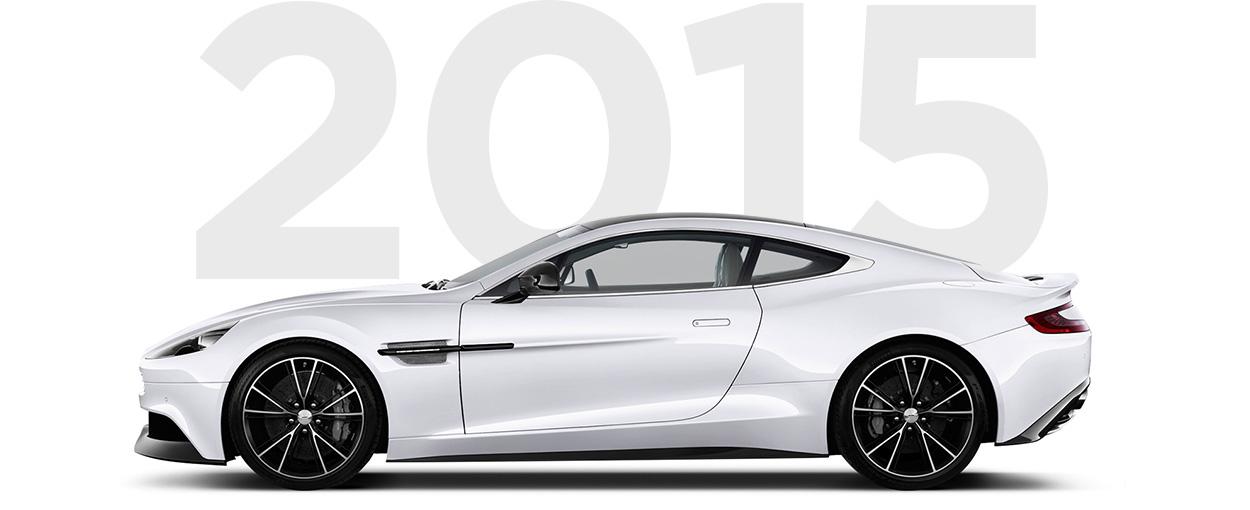 Pirelli & Aston Martin through history 2015