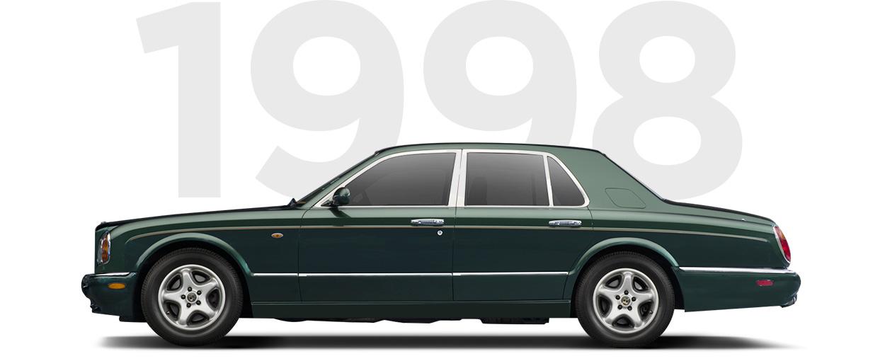 Pirelli & Bentley through history 1998