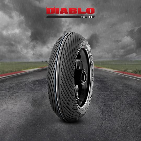 Pneu moto pour track DIABLO RAIN