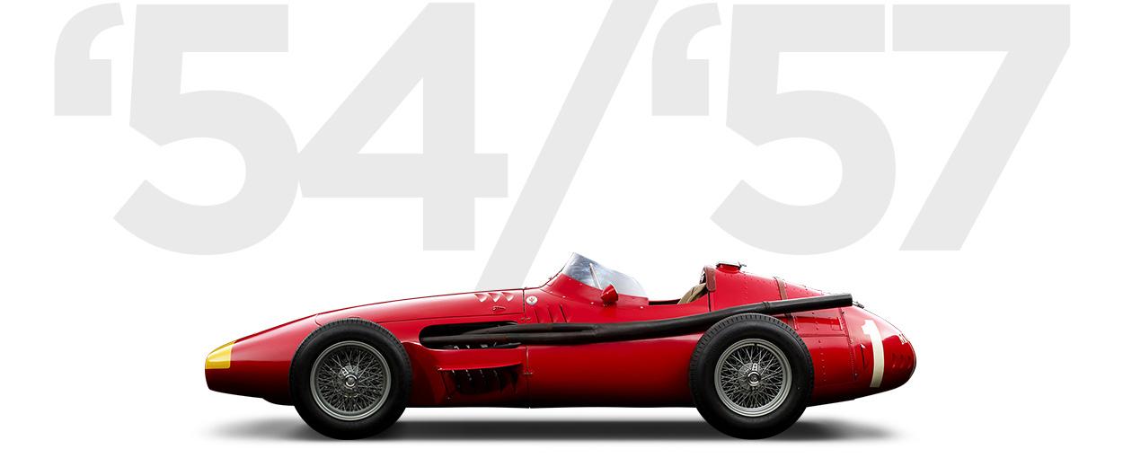 Pirelli & Maserati through history 1954-1957