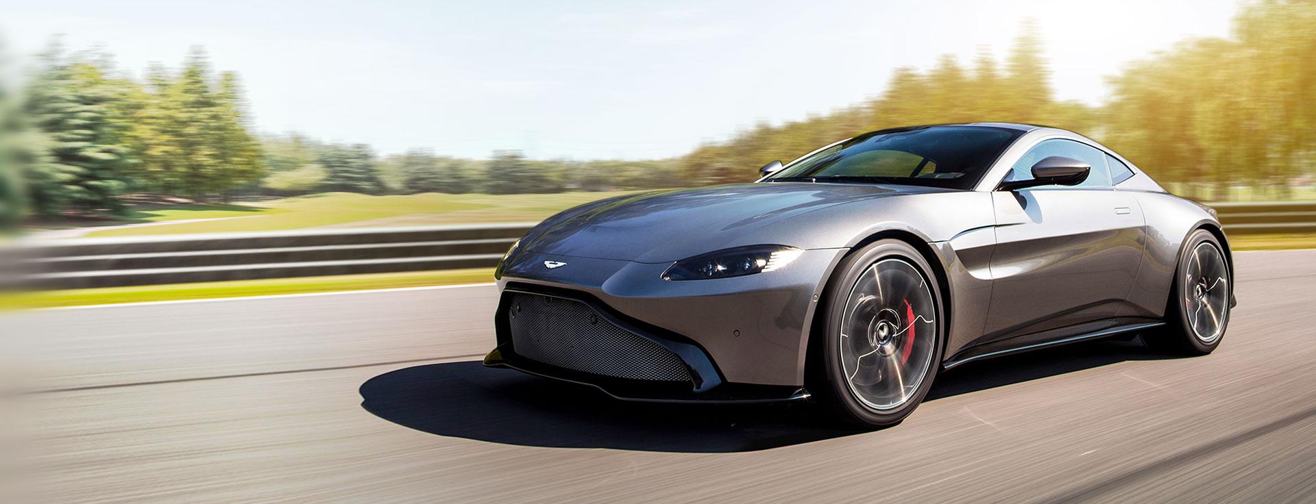 Aston Martin - Pirelli and Aston Martin