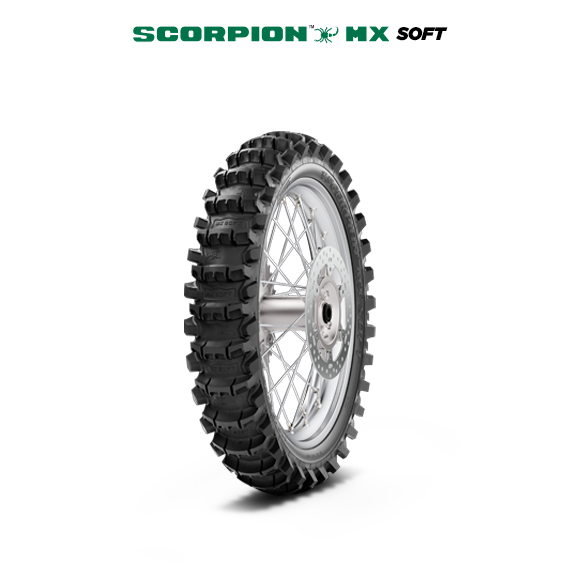 SCORPION MX SOFT motorbike tyre for track