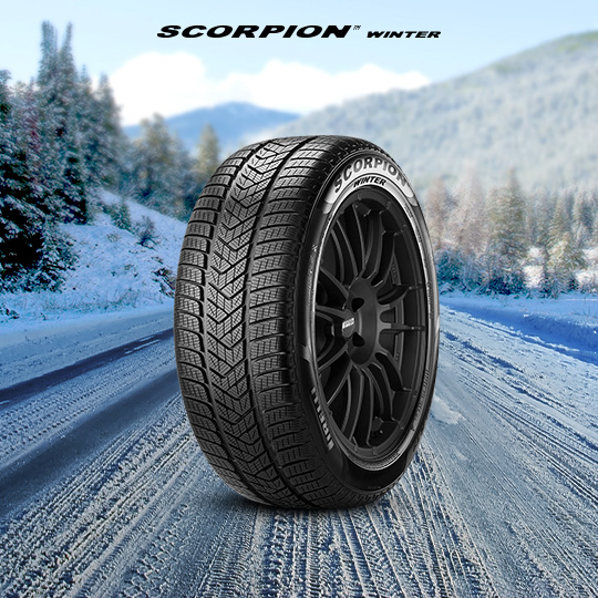 Pneu SCORPION WINTER 295/40 r20