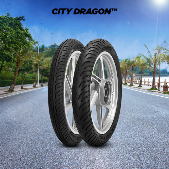 Pneu de motocicleta para road CITY DRAGON
