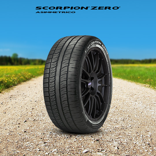 SCORPION ZERO ASIM. tyre for TESLA Model X