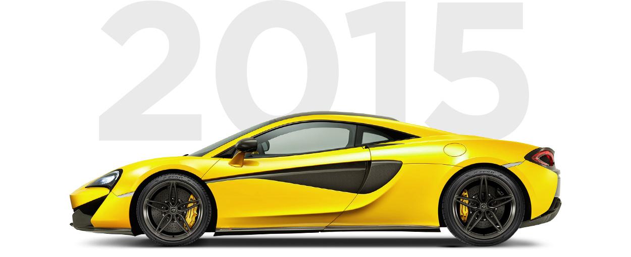 Pirelli & McLaren through history 2015