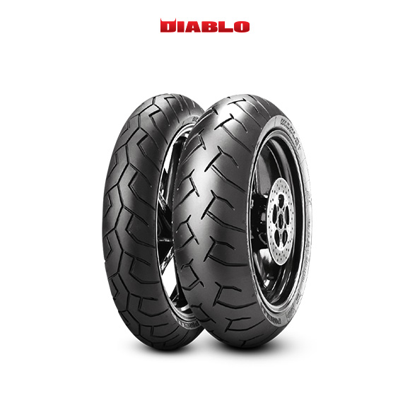 DIABLO tyre for DUCATI Monster S4R M4 (> 2005) motorbike
