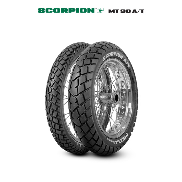 MT 90 A/T SCORPION tyre for YAMAHA DT 125 RE DE 06 (> 2004) motorbike