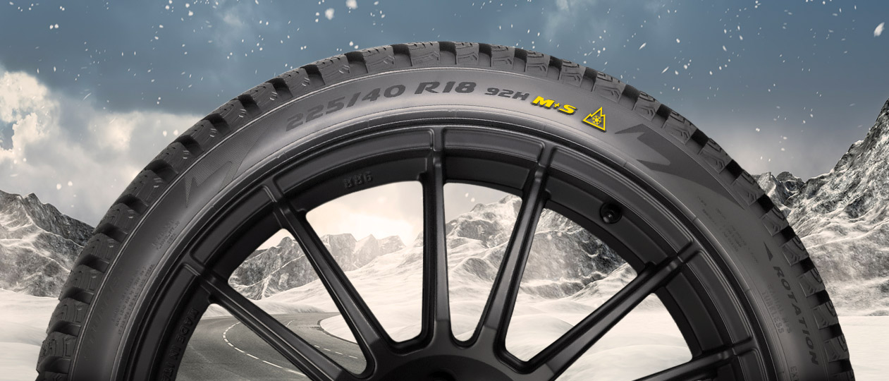 recognize winter tyres