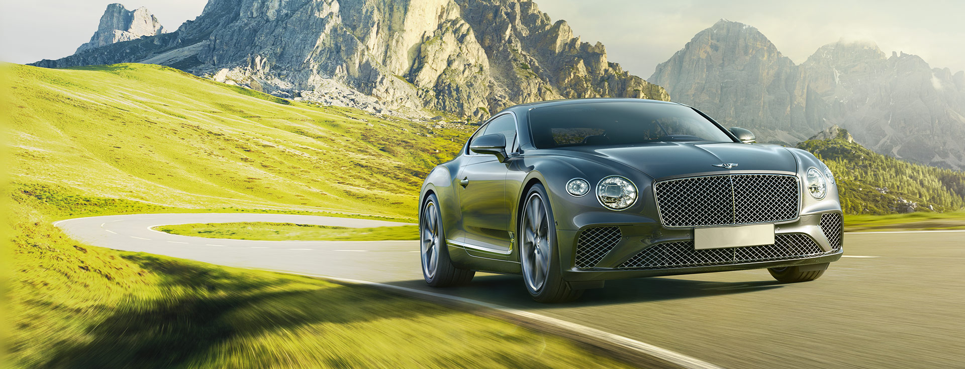 Bentley - Pirelli - the official technical partner of Bentley Motors
