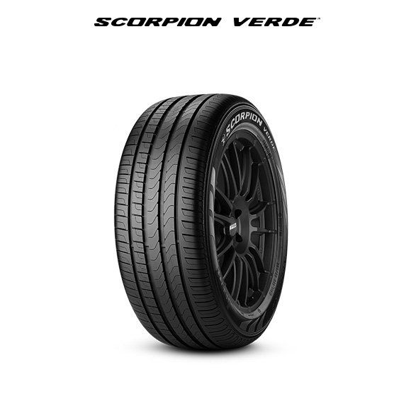 SCORPION VERDE car tire