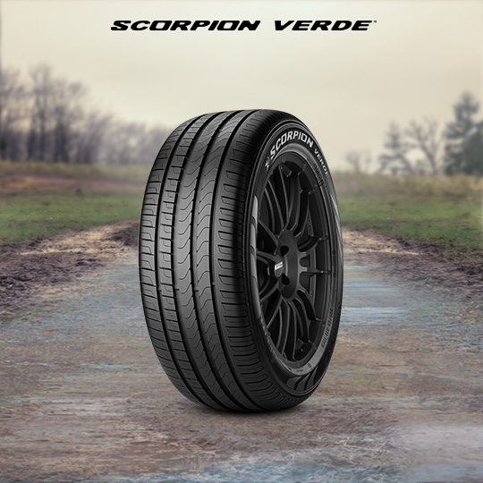 SCORPION VERDE car tyre