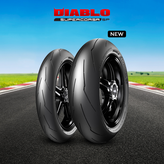 DIABLO SUPERCORSA V3 707 tyre for DUCATI 800 Supersport (> 2003) motorbike