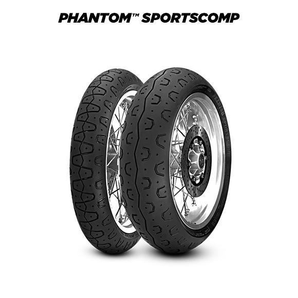 PHANTOM SPORTSCOMP tyre for DUCATI 800 Supersport (> 2003) motorbike
