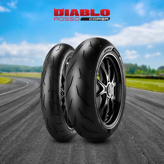 DIABLO ROSSO CORSA motorbike tyre for road