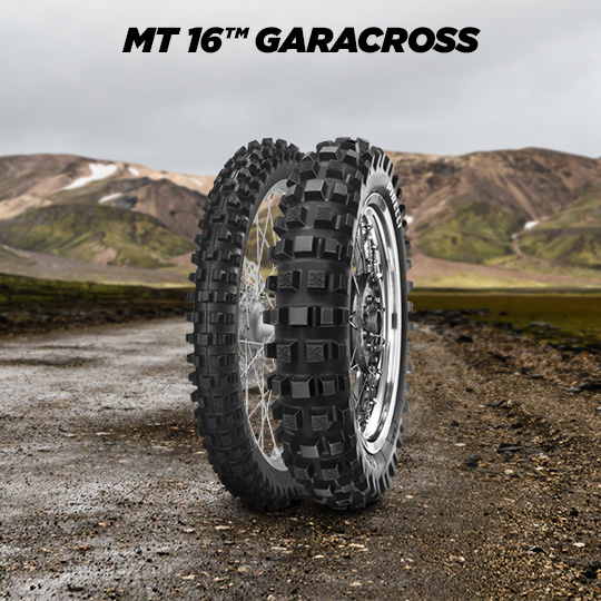 MT 16 GARACROSS motorbike tyre for off road