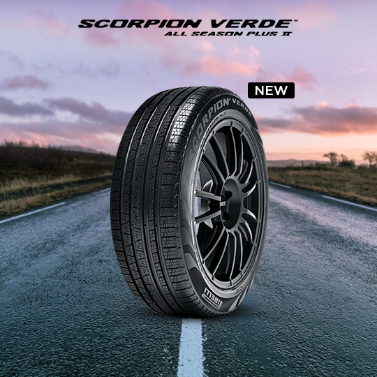 SCORPION VERDE™ ALL SEASON PLUS II car tire
