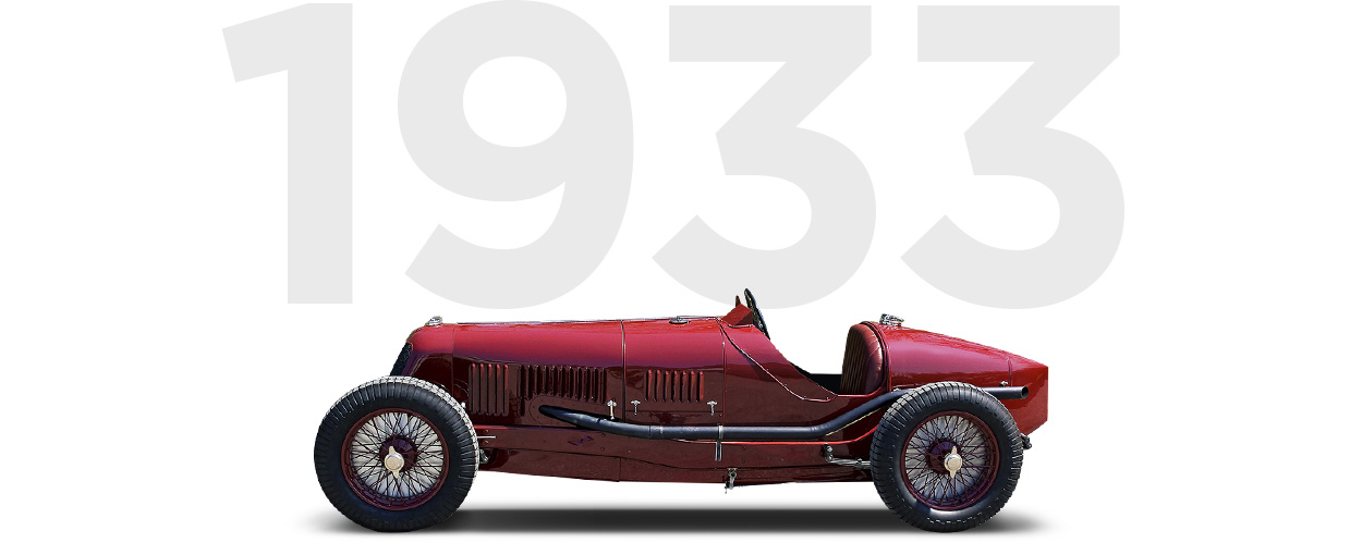 Pirelli & Maserati through history 1933
