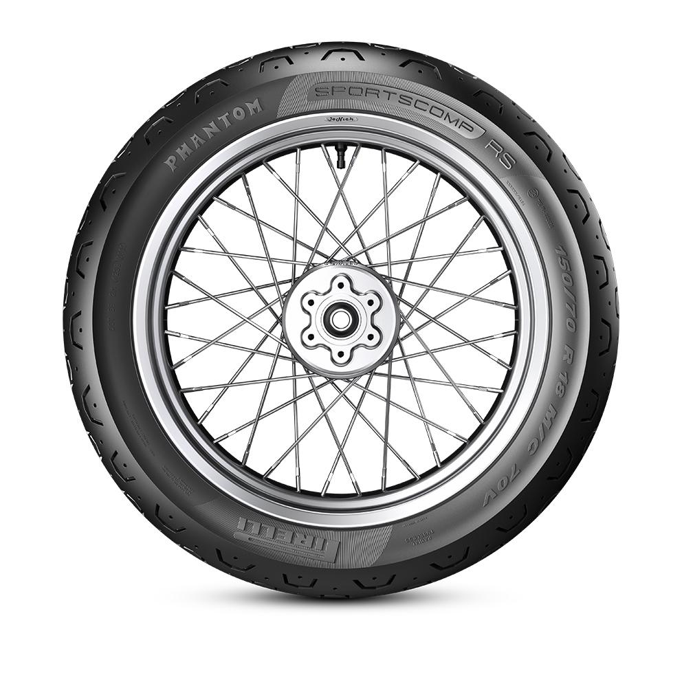 Pirelli PHANTOM™ SPORTSCOMP RS motorbike tyre