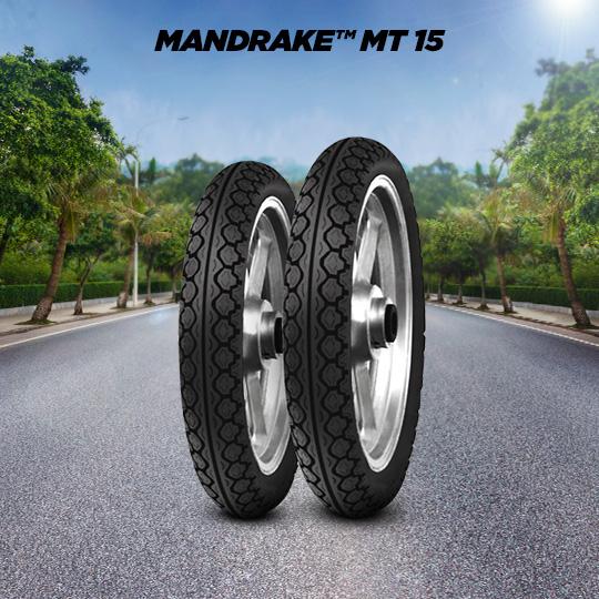 MANDRAKE MT 15 motorbike tyre for road
