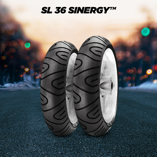 SL 36 SINERGY motorbike tyre for scooter