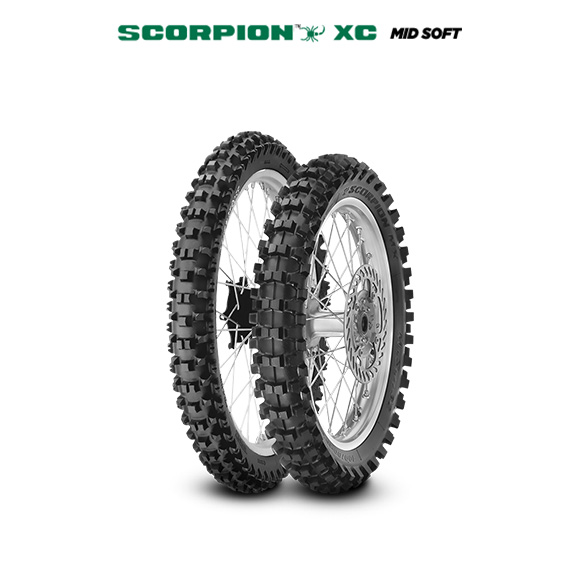 SCORPION XC MID SOFT motorbike tire for track