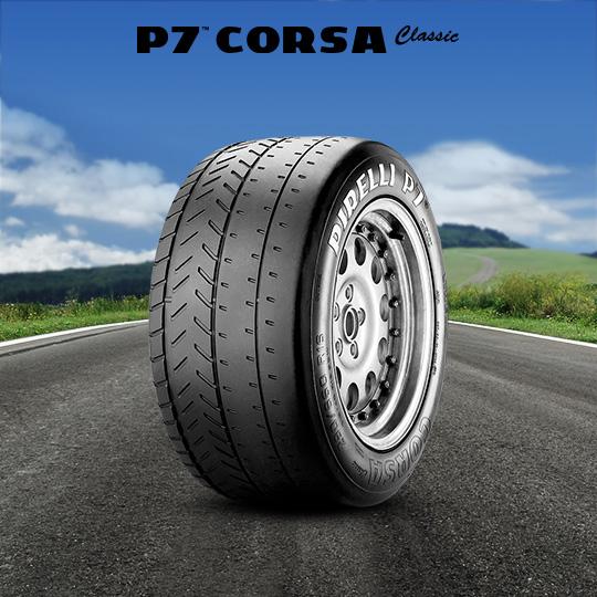 Neumáticos P7 CORSA CLASSIC de motorsport para rally