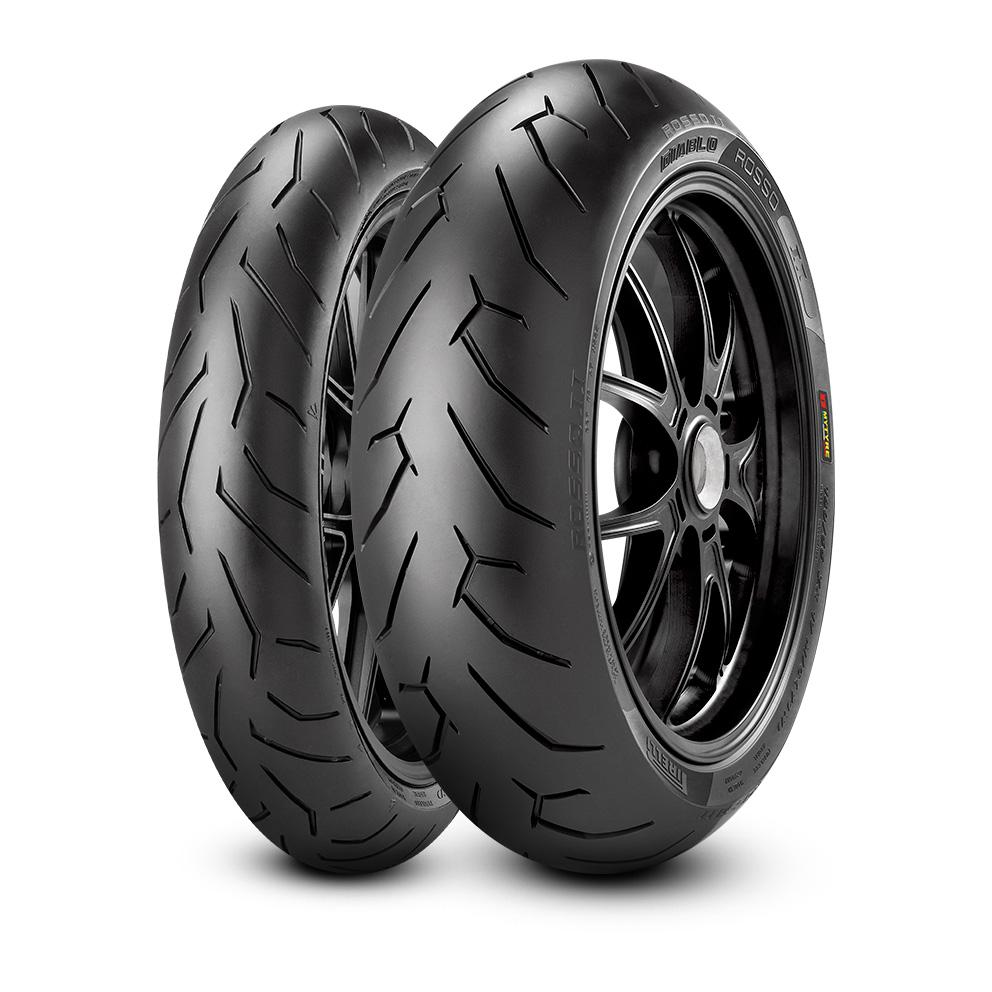 Pirelli DIABLO™ ROSSO II  motorbike tyre