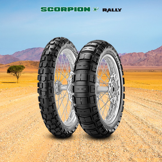 SCORPION RALLY tyre for BMW R 1200 GS Adventure  MY 2014 - 2015  (2014>2015) motorbike