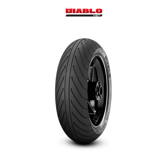 DIABLO WET motorbike tyre for track