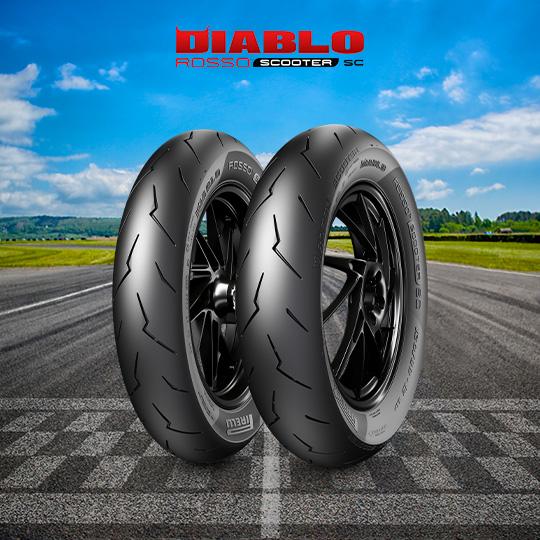 Pneumatico moto per track DIABLO ROSSO SCOOTER SC