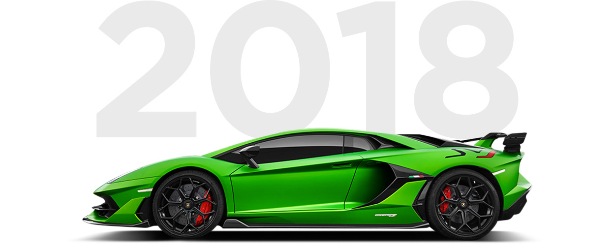 Pirelli & Lamborghini through history 2018