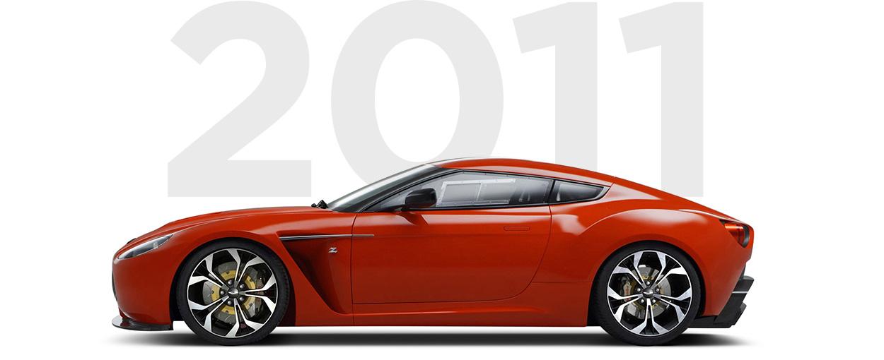 Pirelli & Aston Martin through history 2011