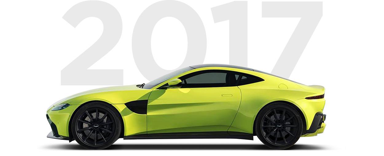 Pirelli & Aston Martin through history 2017