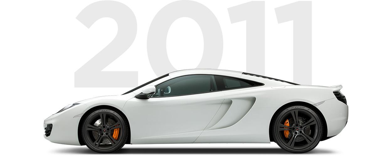 Pirelli & McLaren through history 2011