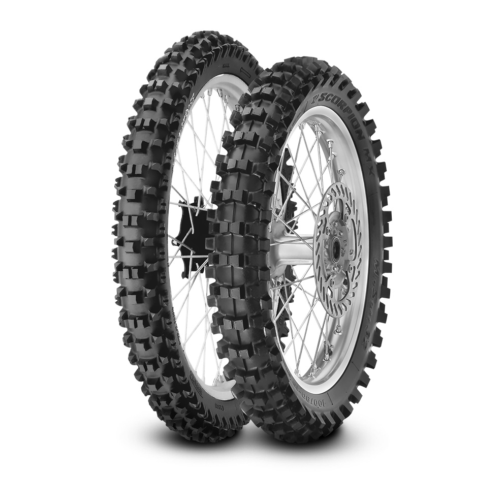 Pirelli SCORPION™ XC MID SOFT motorbike tyre