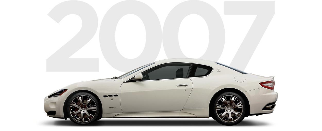 Pirelli & Maserati through history 2007